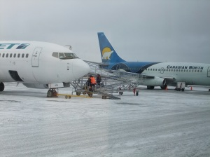 Westjet goes subarctic