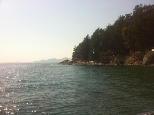 Off Bowen Island